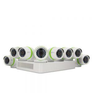 8 Kanallı Kayıt Cihazı ve Yüksek Çözünürlüklü Kameralar