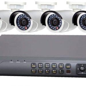 4 Kanal Kayıt Cihazı Kamera Sistemi